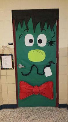 Wacky Frankenstein Classroom Door & Cristina Arzola (christinaarzola) on Pinterest
