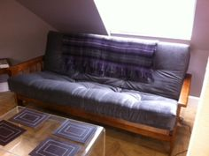 Futons Are A Must For Your Loft Or Attic Room The Flat Packed Frames