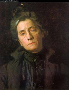 Thomas Eakins Portrait of Susan Macdowell Eakins