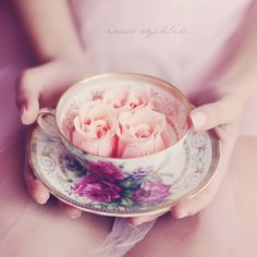 a cup of rose tea ?