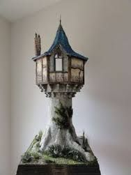 harry barber's miniature castles - Google Search