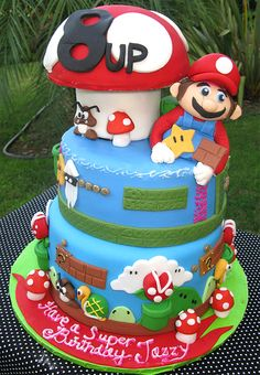 Mario Brothers?..tristen would love, ideas for 5th birthday