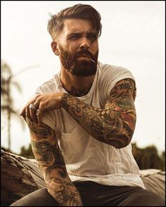 Levi Stocke being dapper - full thick beard and mustache beards bearded man men mens' style suit dressy hair hairstyle model handsome Best Undercut Hairstyles, Undercut Men, Undercut Styles, Hairstyles Haircuts, Hipster Hairstyles Men, Mens Hairstyles With Beard, Funky Hairstyles, Formal Hairstyles, Latest Hairstyles