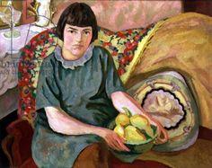 Portrait of Zoum van den Eeckhoudt, 1915, Roger Eliot Fry