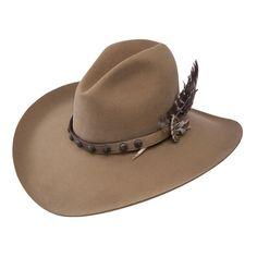 71b4e833ad7b9 Stetson 4X Broken Bow Felt Cowboy Western Hat  fashion