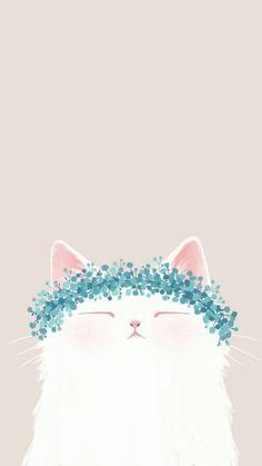 #wallpaper #cat #nice #sweet #wall #draw Follow