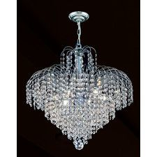 Chandeliers - Style: Contemporary-Modern-Traditional, Finish: Chrome-Iron-Silver / Pewter-Steel   Wayfair