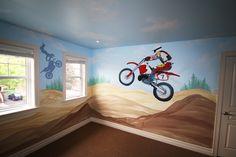 motorcross room ideas
