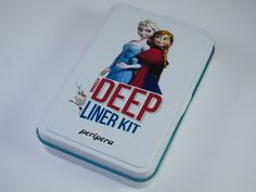 Peripera Frozen Wholly Deep Eye Liner Kit #makeup #disney #letitgo #frozen #disneyfrozen