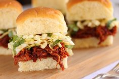 Post image for Spicy Korean BBQ Turkey Sliders with Sesame Ginger Slaw