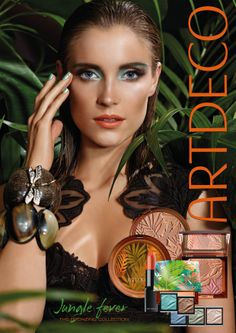 Ojos vibrantes, bocas sensuales con el Sol en tu piel como telón de fondo... Así es BRONZING 2014, una colección inspirada en la intensidad del Amazonas.