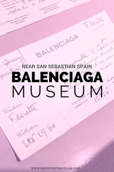 The Balenciaga Museum near San Sebastian shows a fascinating insight into the world of fashion and the secrets of success via @insidetravellab