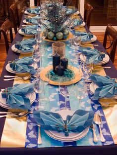 1000 images about tablescapes on pinterest christmas - Mesa navidad decoracion ...