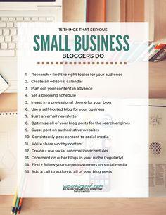 Blogging for Business Checklist
