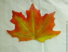 Maple leaves. Cold porcelain - Fair Masters - handmade, handmade