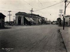 13-05-1930 - Rua Domingos de Morais esquina com rua Vergueiro no bairro de Vila Mariana.