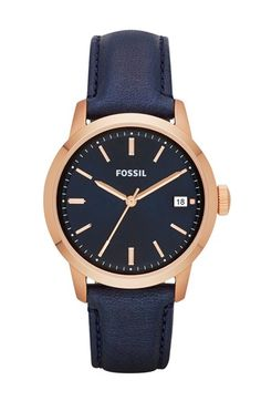 Free shipping and returns on Fossil 'Townsman' Leather Strap Watch, 36mm at Nordstrom.com. An everyday round watch with a plush leather strap offers clean and classic style.