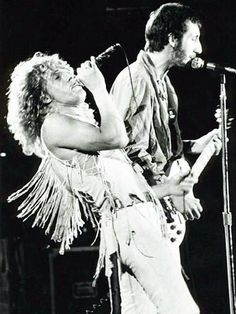 The Who at Woodstock.