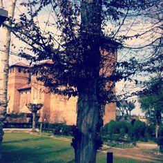Castello Visconteo. Cherasco. Piemonte. Italia.