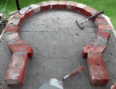 Building a small wood fired pizza oven around internal dia., big enough for 2 pizza Build small wood fired pizza oven or 30 diameter. Pizza Oven Outside, Build A Pizza Oven, Pizza Oven Outdoor, Stone Pizza Oven, Brick Oven Outdoor, Wood Oven, Wood Fired Oven, Wood Fired Pizza, Oven Diy
