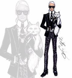 Happy Birthday Karl Lagerfeld! by #HaydenWilliams