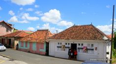 Cases Créoles dans le bourg des Trois-Ilets