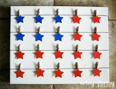 artsy-fartsy mama: 4th of July Clothesline Art