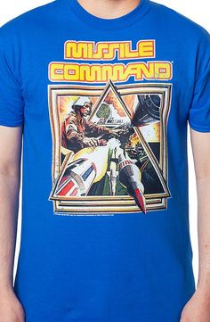 5bc2dc2f Missile Command Box Art T-Shirt #retrogaming #clothing Vintage Video Games,  Vintage