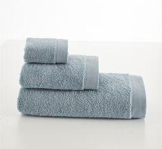 Set 3 Prosoape de Baie Elena Turcoaz Towel, Organic, Green