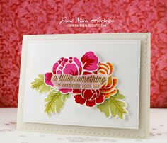 Joni - love the colors. . . pretty gold embossing. ..