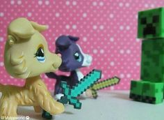 I love minecraft and lps :)