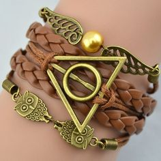Multi-layer Leather Cord Bracelet Infinity Multi-layer Leather Cord Bracelet Jewelry Bracelets