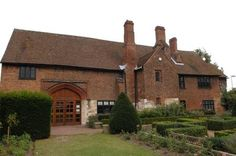 The restored gatehouse to the Manor House of Henry VIII built on the rubble of Dartford Priory, in Kent