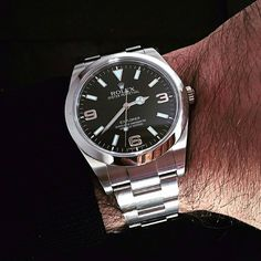 Rolex Explorer I | #WRISTPORN by @cesco10 | www.wristporn.com