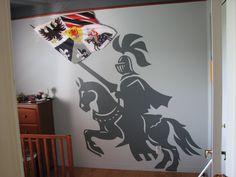 knight bedroom boy chambre chevalier gars garçon