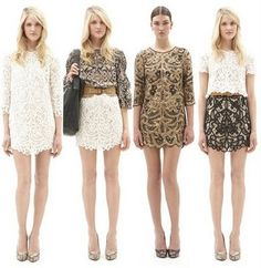 chic lace looks at 3.1 phillip lim