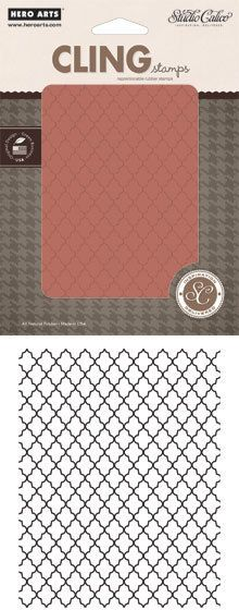 Lattice Background - Cling Rubber Stamp