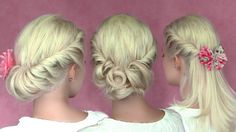 A formal hairstyle option