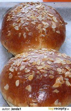 Jendův velikonoční mazanec Bread Dough Recipe, Pavlova, Food And Drink, Baking, Cake, Quote, Hampers, Czech Food, Bread Making