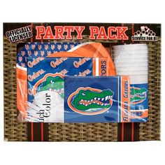 Florida Gators Game Day Party Pack