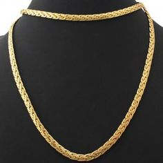 SHARE & Get it FREE | A Suit of Stylish Solid Color Woven Shape Chain…