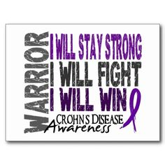 #quotes healthy life ~ I will stay strong, I will fight, I will win. #crohns