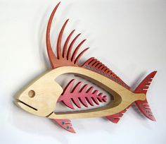 sticks furniture rooster - Google Search Wooden Art, Wooden Crafts, Wood Wall Art, Wooden Crosses, Fish Sculpture, Wood Sculpture, Small Wood Projects, Craft Projects, Sticks Furniture