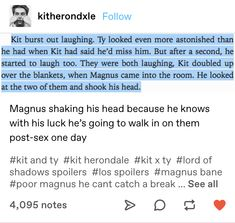 Shadowhunters Tv Show, Shadowhunters The Mortal Instruments, Book Memes, Book Quotes, Clary And Jace, Dark Sense Of Humor, Cassie Clare, Cassandra Clare Books, The Dark Artifices
