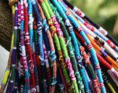 Threads of Hope bracelets & anklets - Handmade - Colorful