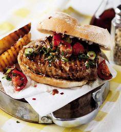 Tuna steak rolls Steak Rolls, Tuna Steaks, Cheesesteak, Hamburger, Ethnic Recipes, Food, Essen, Burgers, Meals