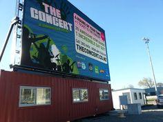 The Concert billboard