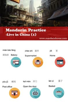 Learn Chinese everyday;Daily Life Vocabulary - 1 For more info please contact: info@mandarinhouse.com The best Mandarin School in China