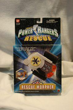 Power Rangers Lightspeed Rescue, Rescue Morpher MIB