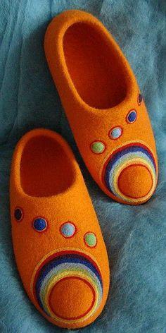 """Обувь ручной работы. Ярмарка Мастеров - ручная работа тапочки """"Пятый Элемент"""". Handmade."""